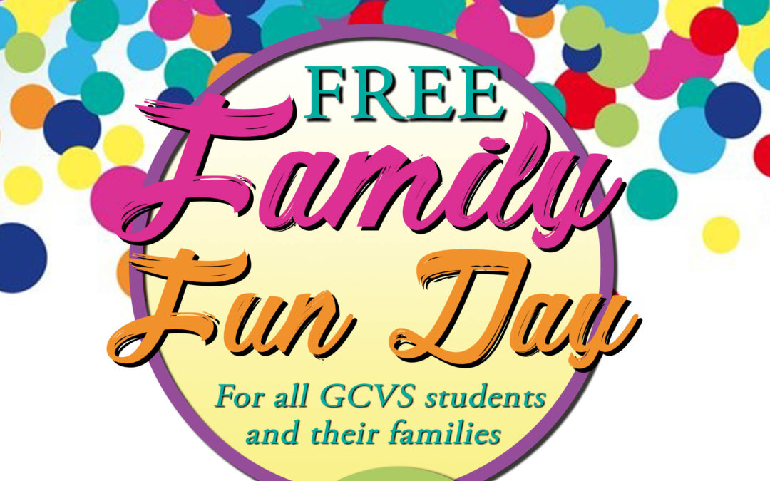 Invitation to Family Fun Day with GCVS