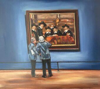 The Analysis - Lolli Hollsten - 24'' x 30'' - Oil on Canvas