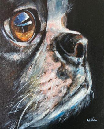 The Look - Lolli Hollsten - 11'' x 14'' - Acrylic on Canvas