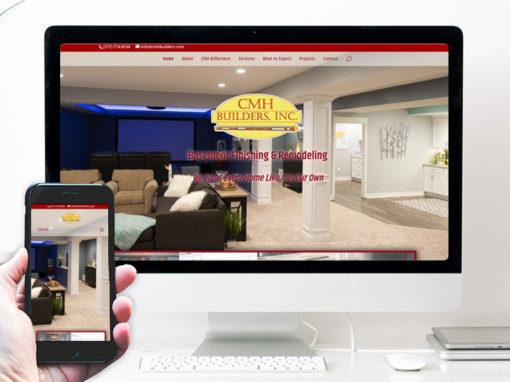 CMH Builders – website design