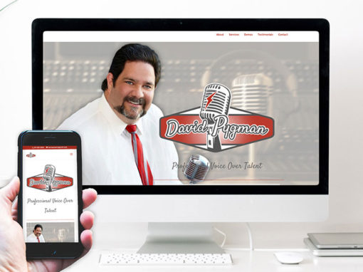 David Pygman – website design