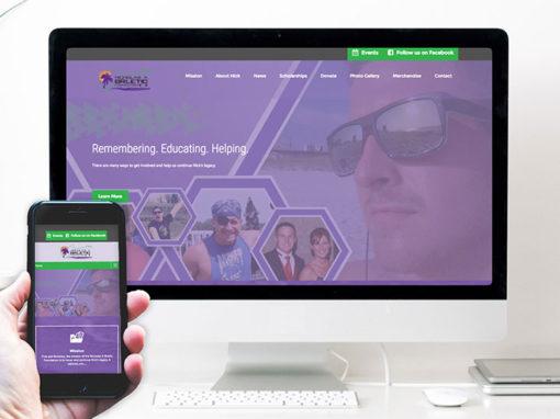 Nicholas A Brletic Foundation – website design
