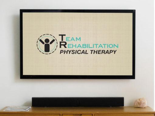 Team Rehabilitation – animated logo and bug