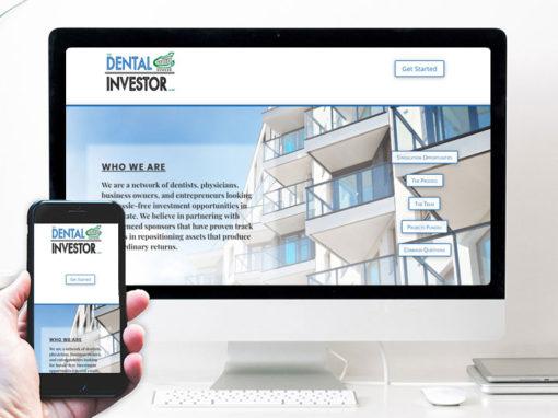 The Dental Investor – website design