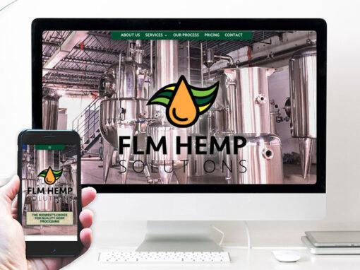 FLM Hemp – website design