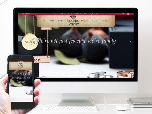 Hoosier Jewelry – website design