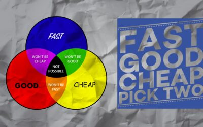 Fast, Good and Cheap