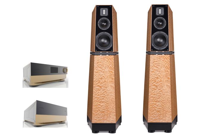 Verity Audio's Lohengrin IIS and Monsalvat Series Electronics Debut at RMAF 2017!!!