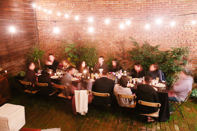 Anna Wu's Birthday Dinner   Moody Winter Garden Party #annawuthreeoh