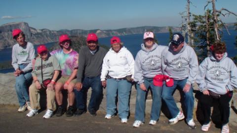 CIP Tour to Crater Lake, Oregon
