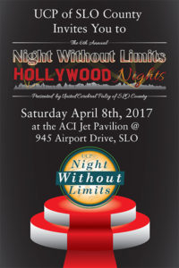 Join UCP of SLO County for our Annual Night Without Limits