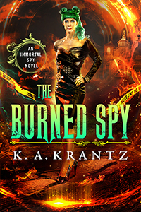 Book Cover: The Burned Spy