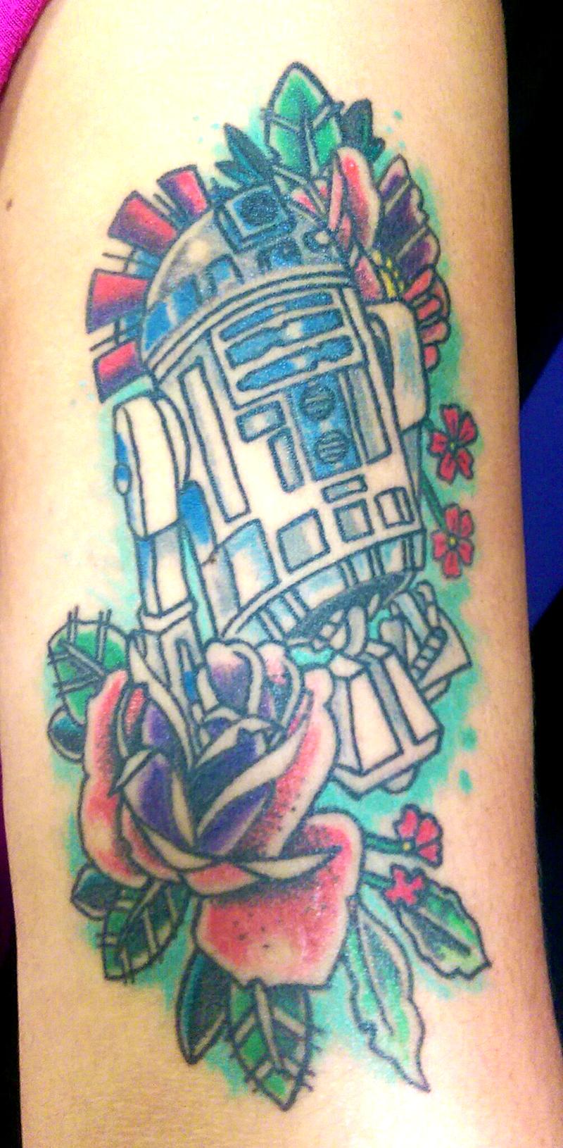 Star Wars Tattoo R2D2