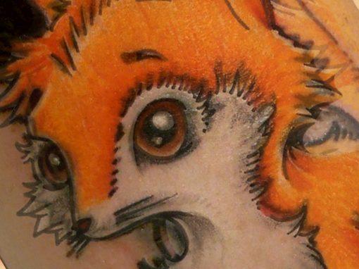 Kitsune Fox Tattoo