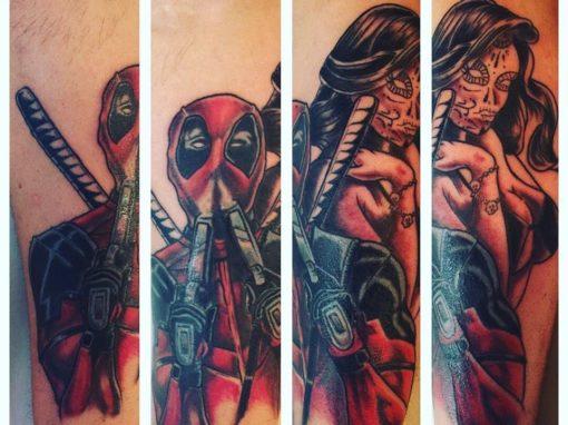 Deadpool Longmont Tattoo Artist