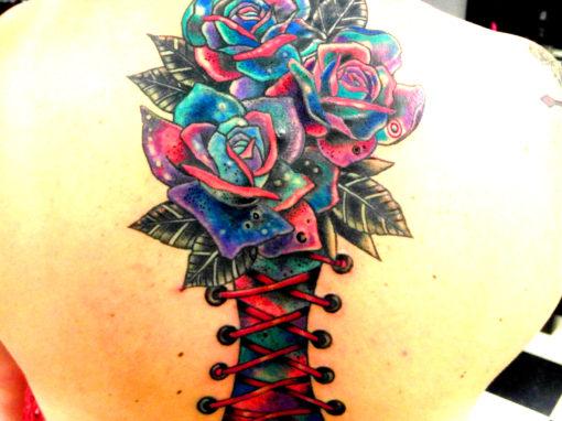 Galaxy Rose Tattoo Longmont Colorado