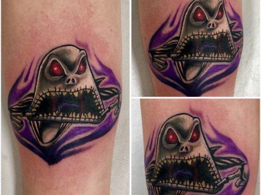 Nightmare Before Christmas Jack Skellington Tattoo