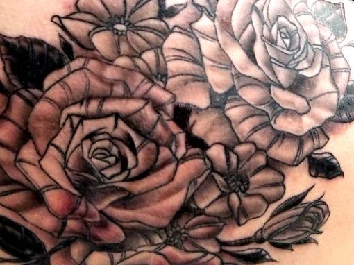 Rose Tattoo Boulder Country Colorado