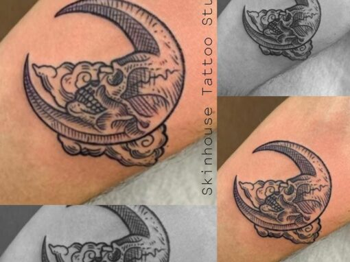 Skull Moon Longmont Tattoo
