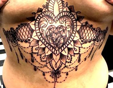 Mandala Tattoo Feminine Design