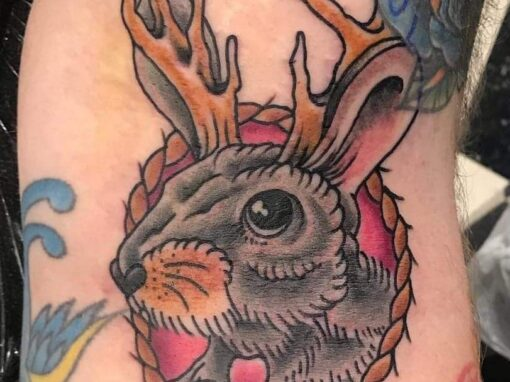 Jackelope Tattoo