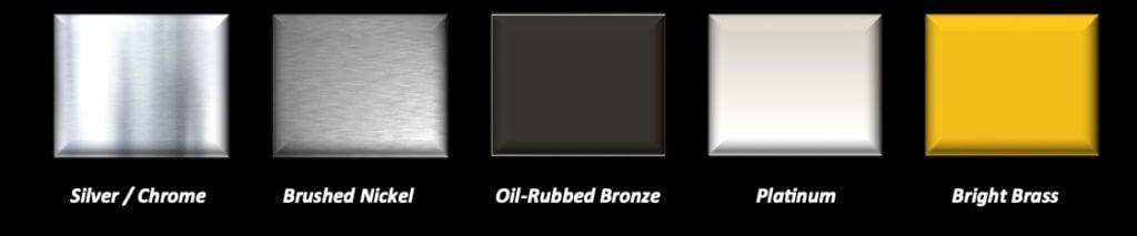frame finish options