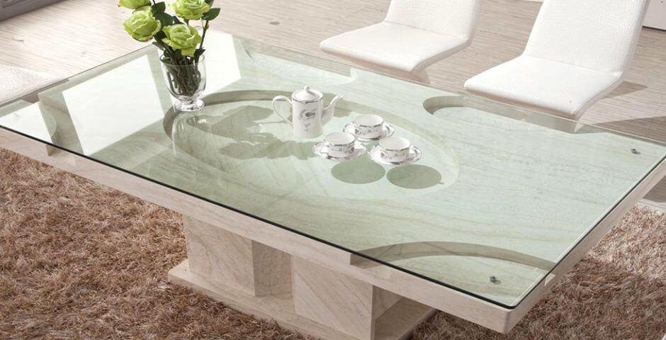 custom glass tabletop