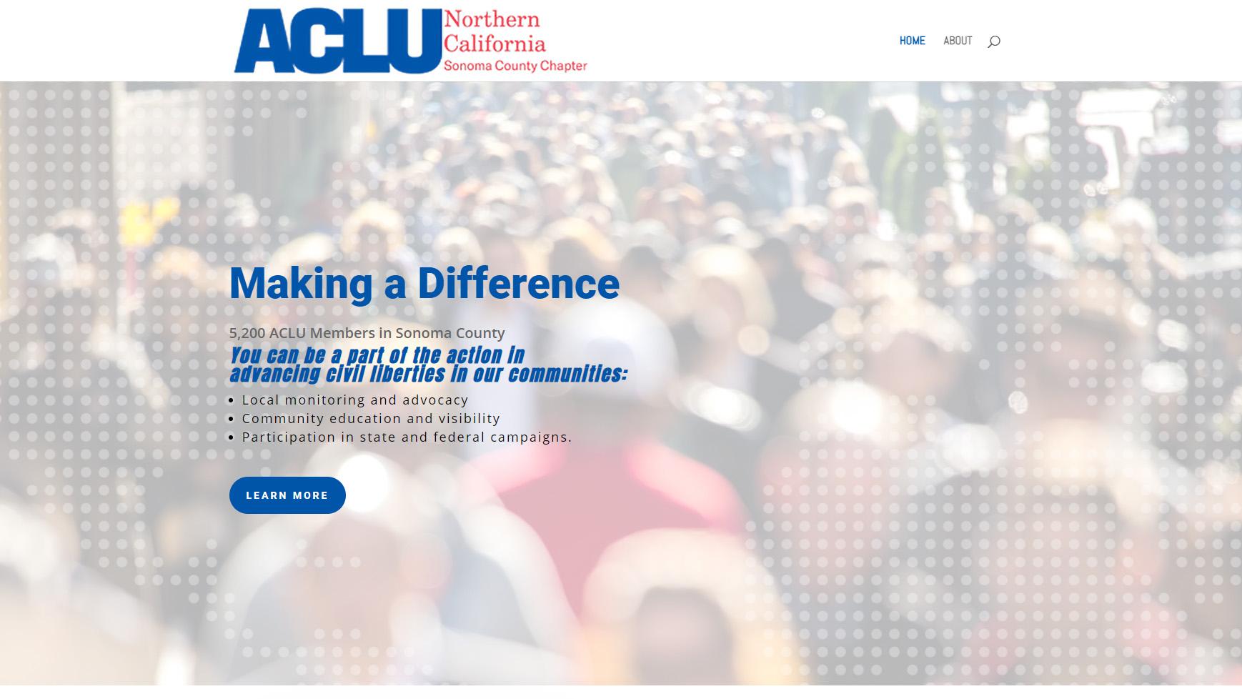 ACLU Northern California new website