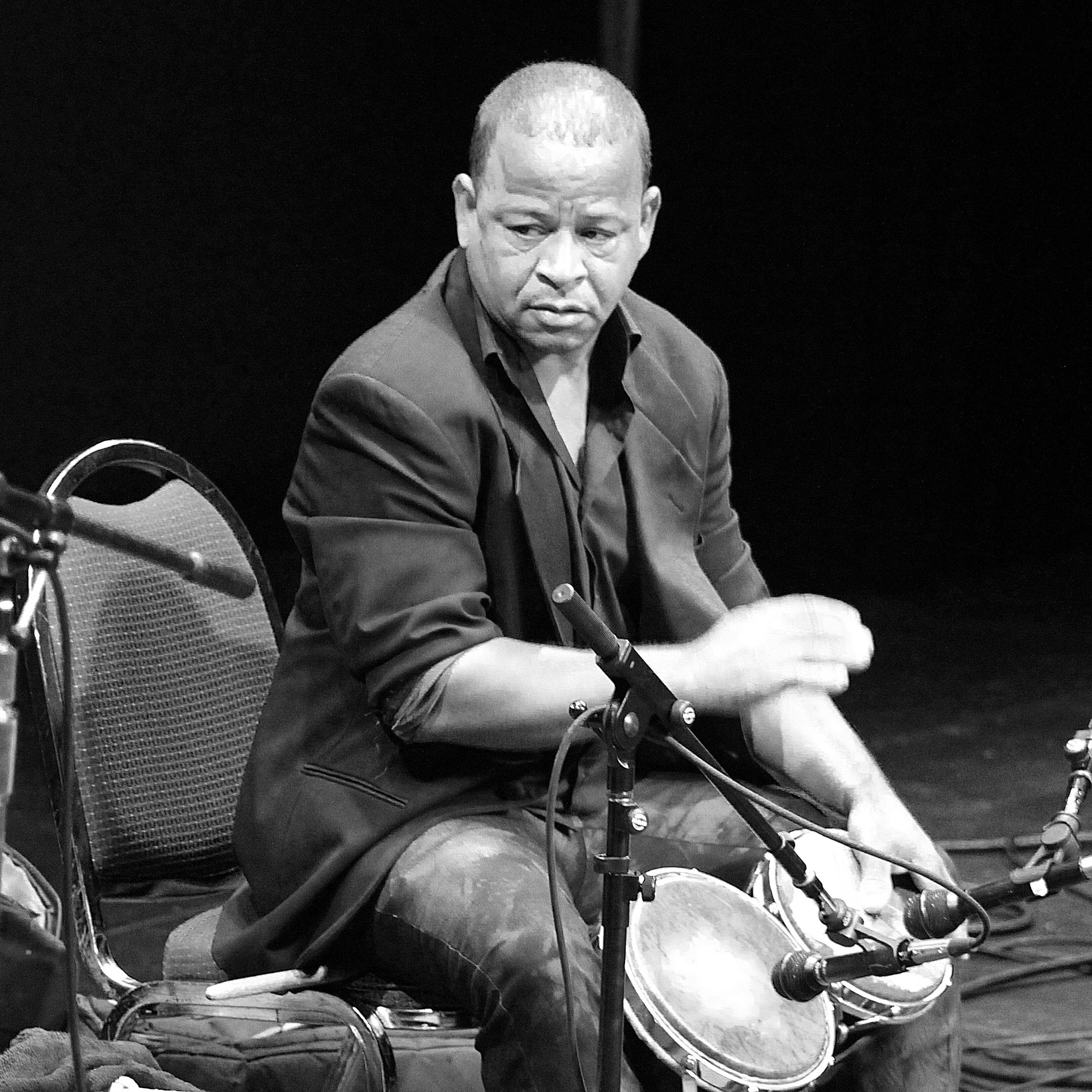 Joan Soriano Bongo player