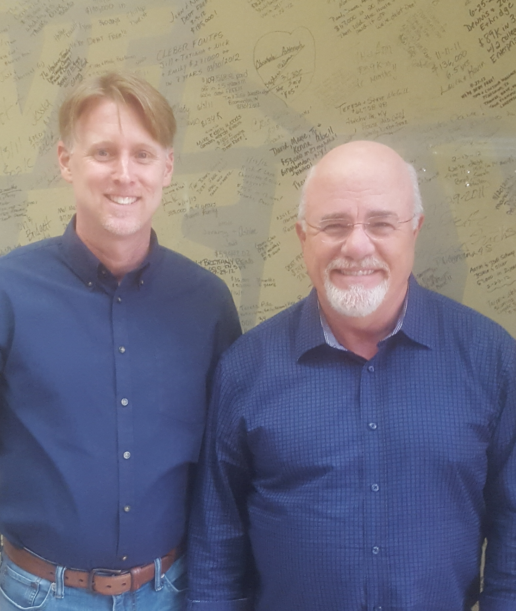 Dave Ramsey and Jeff Headrick Financial Planning Professionals