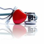 picture of a heart and stethoscope