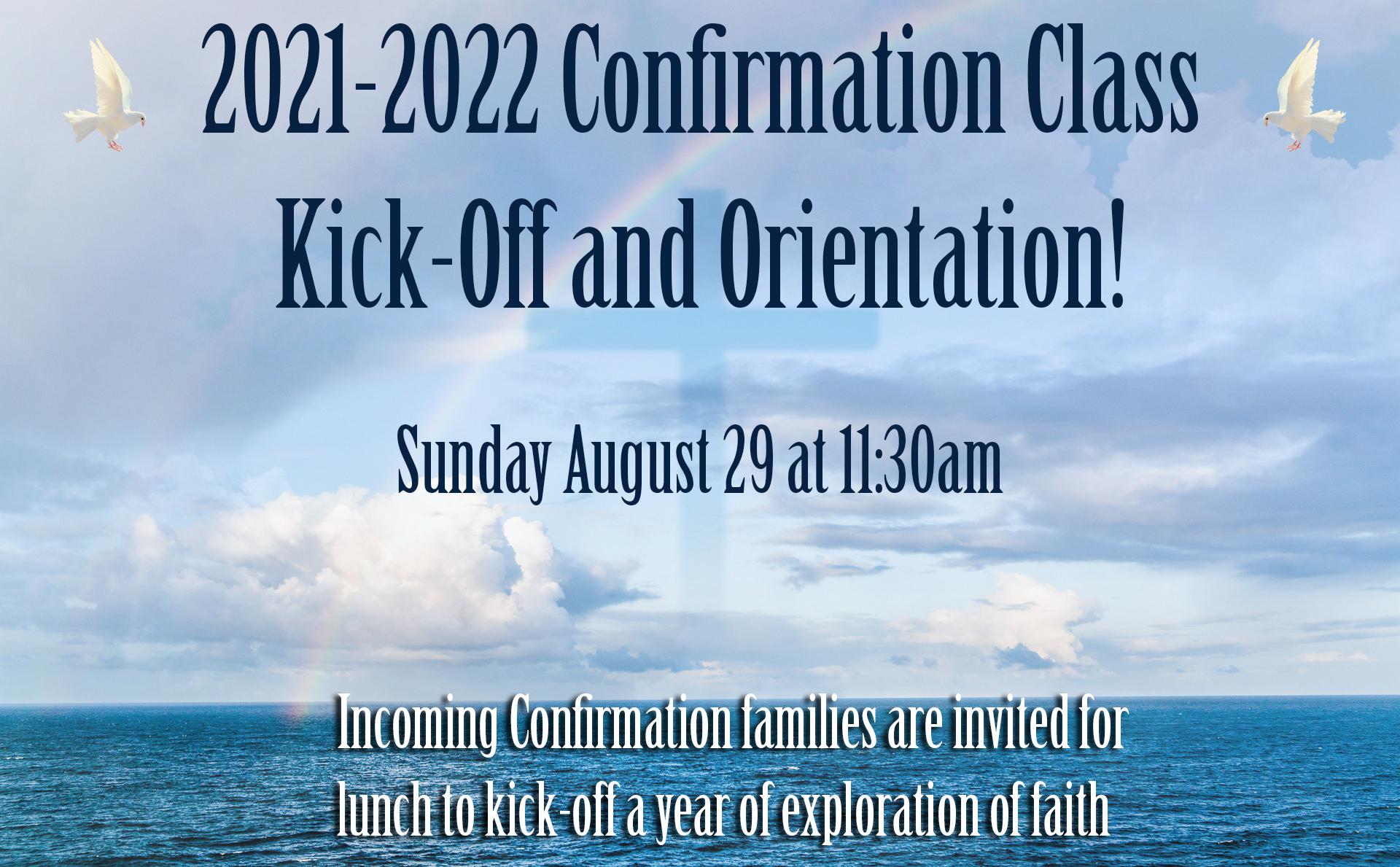 Confirmation Details