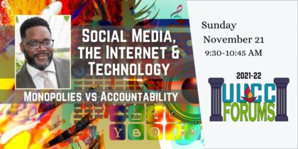 Social Media, the Internet, and Technology: Monopolies versus Accountability