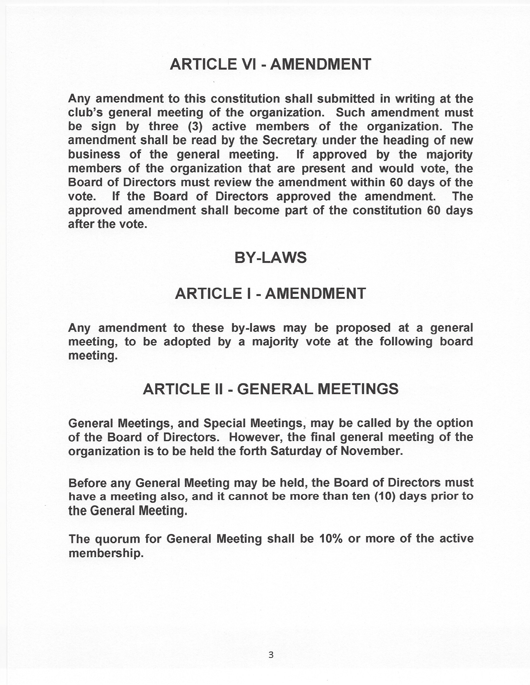 ACSD Bylaw 3 page