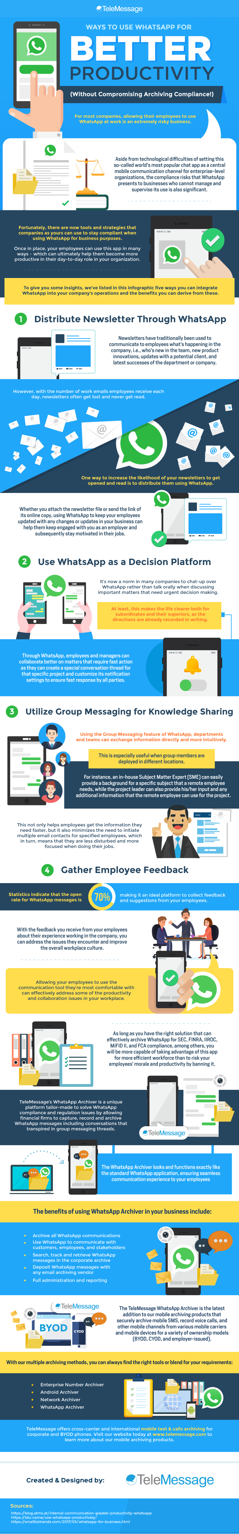 Ways to Use WhatsApp for Better Productivity