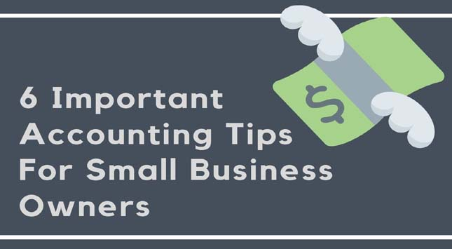6 Important Accounting Tips
