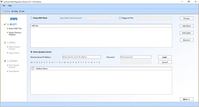 Steps to Migrate Lotus Notes to Exchange