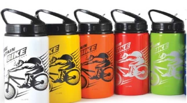 Brand Promotion with Printed Drink Bottles