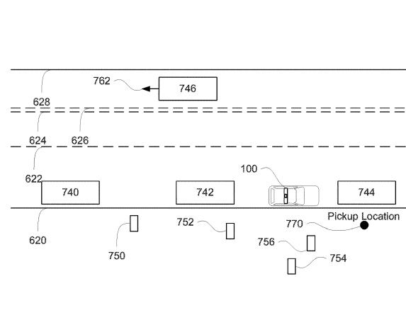 recent patent application of Waymo