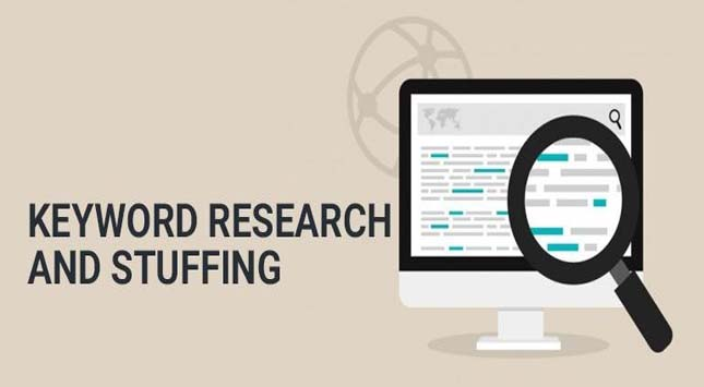 Keyword Research and Stuffing