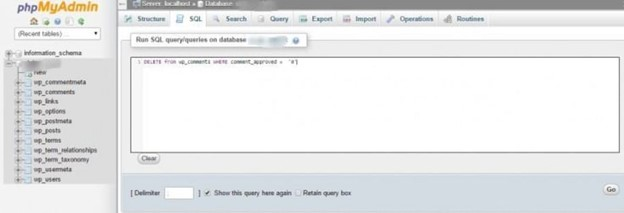 Run a PHP Query