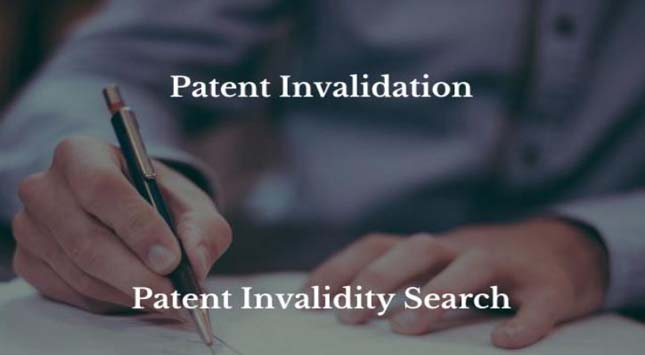 Invalidity Search