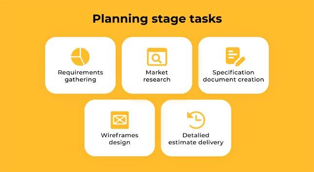 Planning stage tasks