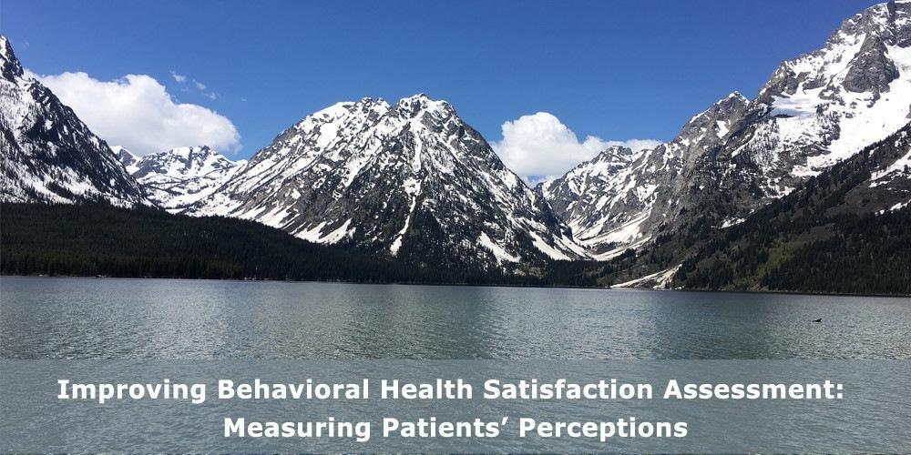 Improving Behavioral Health Satisfaction Assessment: Measuring Patients' Perceptions