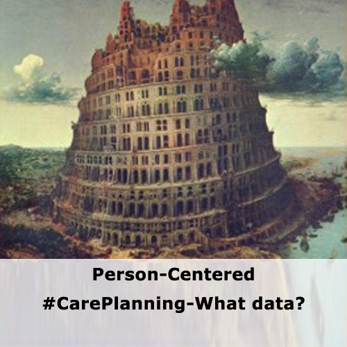 Person-Centered #CarePlanning-What data?