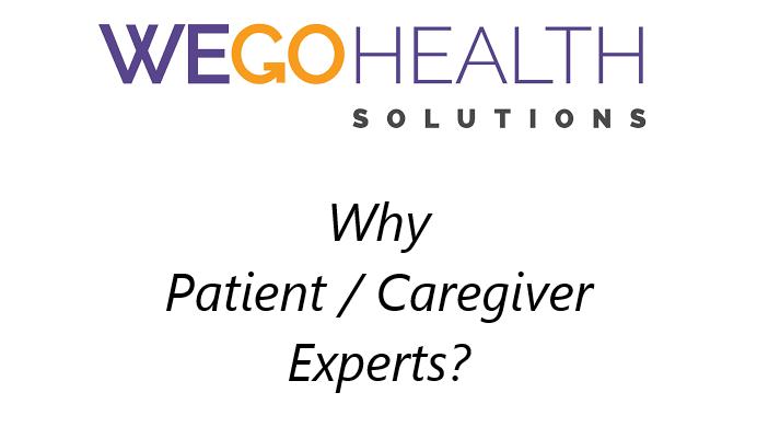 WEGO Health Solutions: Value Patient Caregiver Experts
