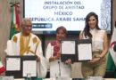 Clausuran Trabajos del Grupo Amistad México-República Árabe Saharaui