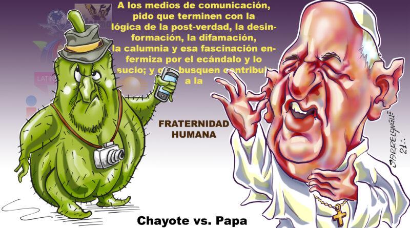 Chayote vs. Papa