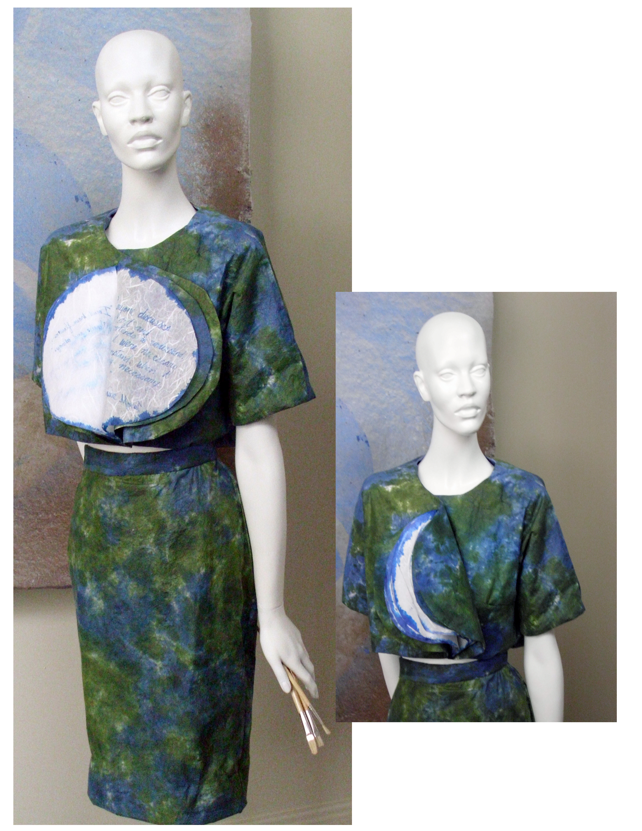 Monet's water lily jacket