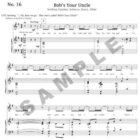 Bob's Your Uncle Sample Page